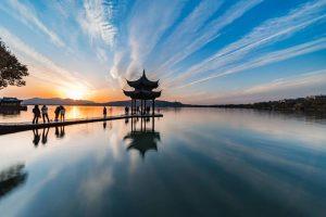 图片[3]-西湖夕阳-金瓦刀