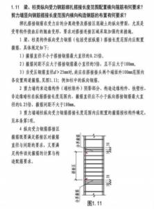 图片[1]-钢筋绑扎搭接时,梁柱箍筋配置与剪力墙边缘构件箍筋配置有区别(节选自图集17G101-11)-金瓦刀