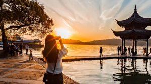 图片[2]-西湖夕阳-金瓦刀