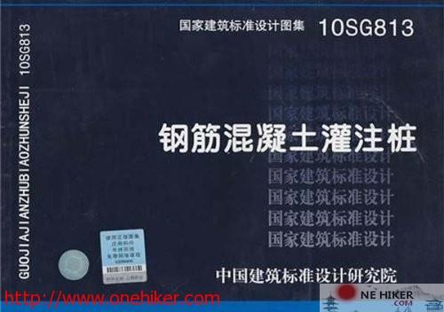 图片[1]-10SG813钢筋混凝土灌注桩图集-金瓦刀