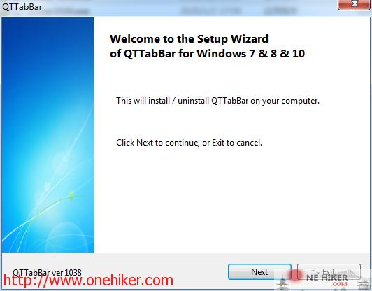 图片[1]-多窗口管理器QTTabBar v1039 中文免费版-金瓦刀