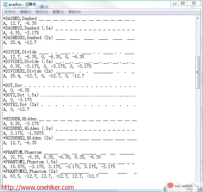 图片[4]-一文搞懂CAD自定义线型-金瓦刀