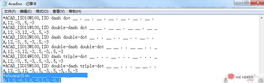 图片[7]-一文搞懂CAD自定义线型-金瓦刀